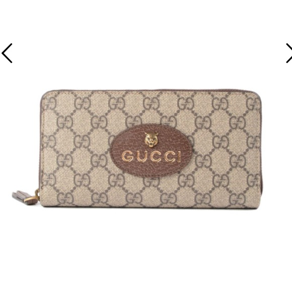 6ccc616ed164 Gucci Bags | Gg Supreme Zip Up Wallet | Poshmark